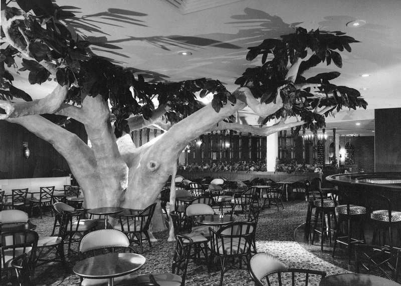 Gideon's Sculpted Trees at the Constellation Hotel Toronto