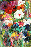 Gideon Painting: Florals Collection — A Plethora of Flora, Oil.